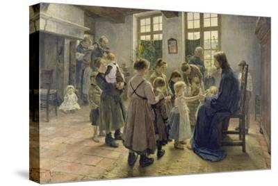 Let the Children Come to Me, 1884 by Fritz von Uhde