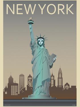 Statue of Liberty by Frk. Blaa