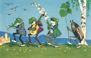 Frog and Beetle Band