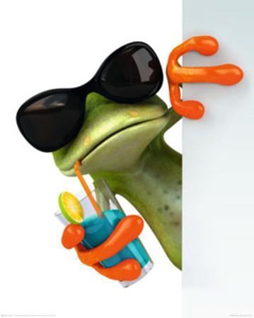 Frog Drink