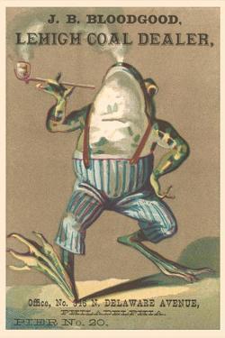 Frog Smoking Pipe