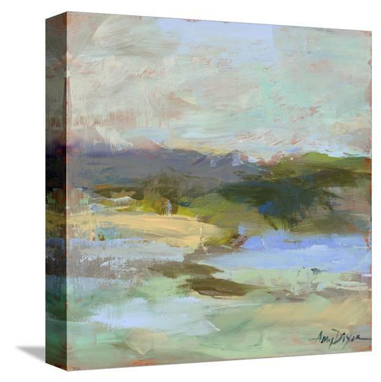 From Afar-Amy Dixon-Stretched Canvas