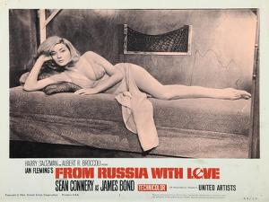 From Russia with Love, Daniela Bianchi, 1963