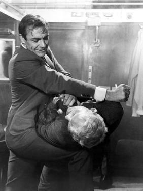 From Russia with Love, Sean Connery, Robert Shaw, 1963, Fight
