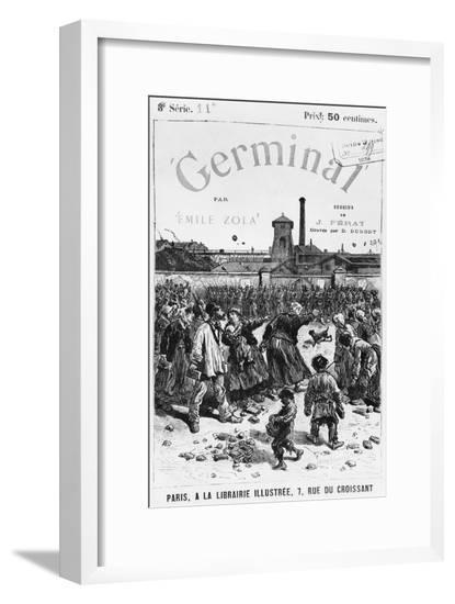Front Cover Illustration of Germinal by Emile Zola-Jules Ferat-Framed Giclee Print