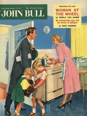 Front Cover of 'John Bull', January 1957