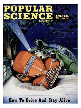 Front cover of Popular Science Magazine: April 1, 1946