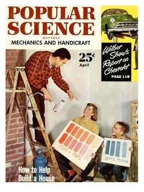Front cover of Popular Science Magazine: April 1, 1950