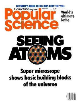 Front cover of Popular Science Magazine: April 1, 1989