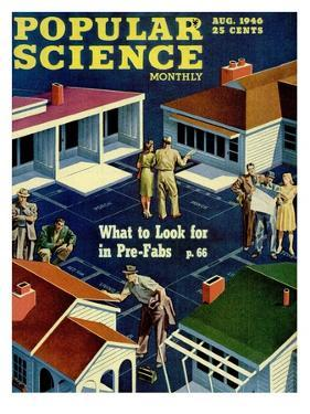 Front cover of Popular Science Magazine: August 1, 1946