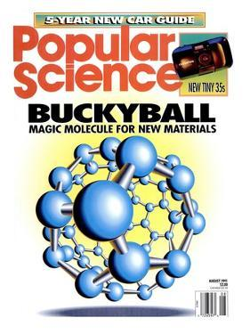 Front cover of Popular Science Magazine: August 1, 1991
