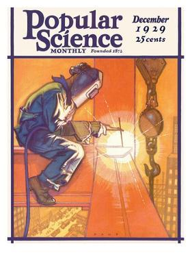 Front Cover of Popular Science Magazine: December 1, 1929