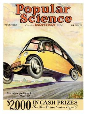 Front Cover of Popular Science Magazine: December 1, 1930