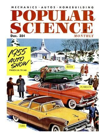 Front Cover of Popular Science Magazine: December 1, 1955