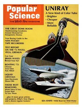 Front Cover of Popular Science Magazine: February 1, 1972