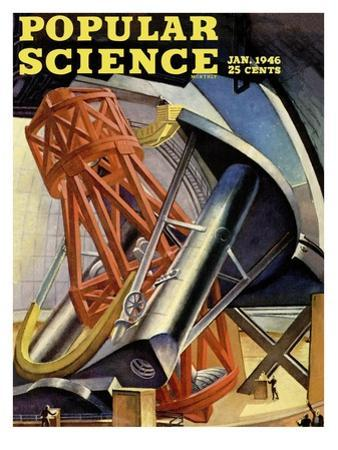Front cover of Popular Science Magazine: January 1, 1946