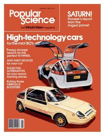Front cover of Popular Science Magazine: January 1, 1980