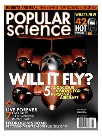 Front cover of Popular Science Magazine: January 1, 2005