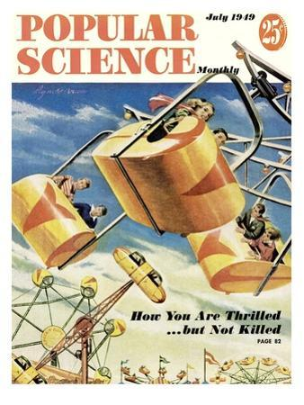 Front cover of Popular Science Magazine: July 1, 1949