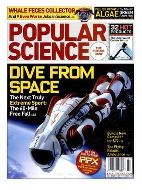 Front cover of Popular Science Magazine: July 1, 2007