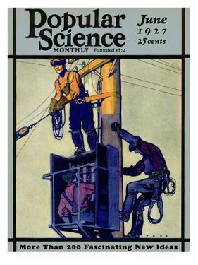 Front Cover of Popular Science Magazine: June 1, 1927