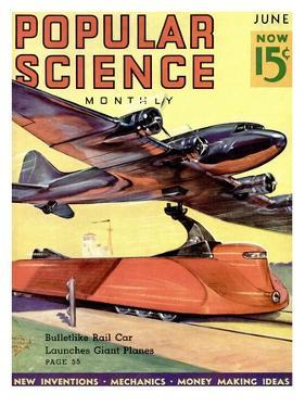 Front Cover of Popular Science Magazine: June 1, 1930