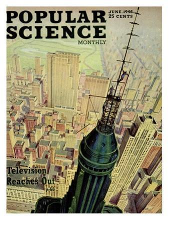 Front cover of Popular Science Magazine: June 1, 1946