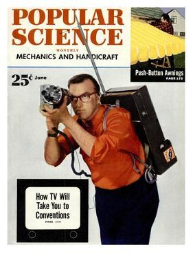 Front cover of Popular Science Magazine: June 1, 1950