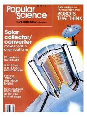 Front cover of Popular Science Magazine: June 1, 1980