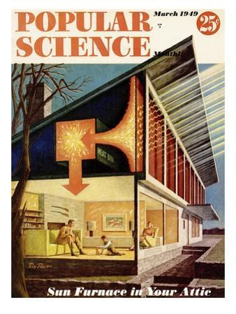 Front cover of Popular Science Magazine: March 1, 1949