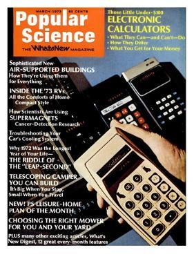 Front cover of Popular Science Magazine: March 1, 1973