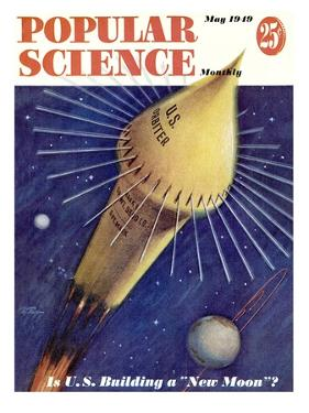 Front cover of Popular Science Magazine: May 1, 1949