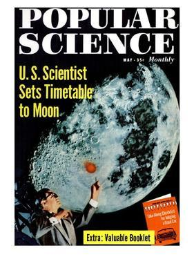 Front cover of Popular Science Magazine: May 1, 1950
