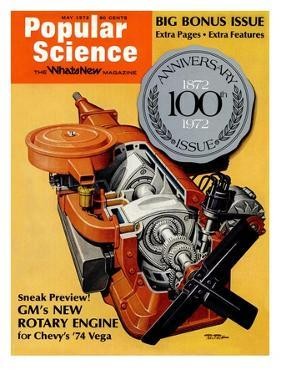 Front Cover of Popular Science Magazine: May 1, 1972