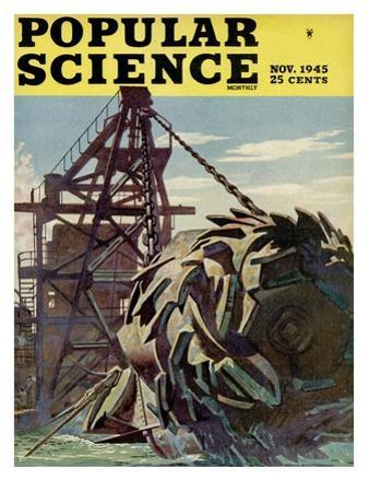 Front cover of Popular Science Magazine: November 1, 1945