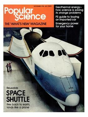 Front cover of Popular Science Magazine: November 1, 1974