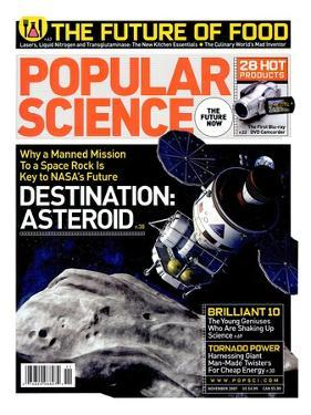 Front cover of Popular Science Magazine: November 1, 2007