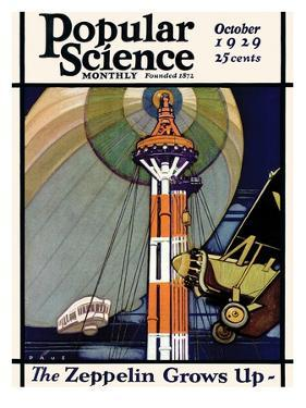 Front Cover of Popular Science Magazine: October 1, 1929