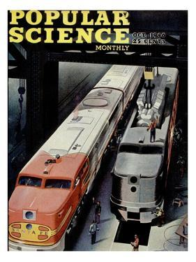 Front cover of Popular Science Magazine: October 1, 1946