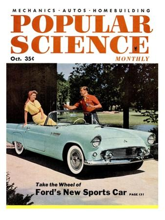 Front cover of Popular Science Magazine: October 1, 1950