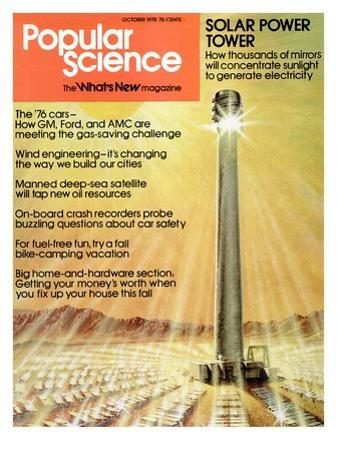 Front Cover of Popular Science Magazine: October 1, 1975