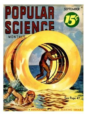 Front cover of Popular Science Magazine: September 1, 1930