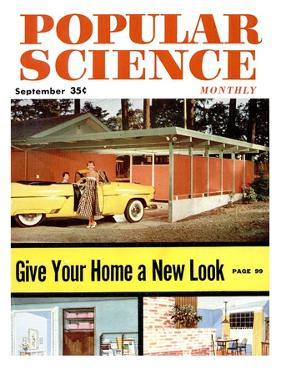 Front cover of Popular Science Magazine: September 1, 1950