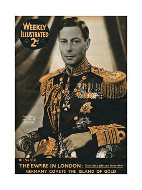 Front Cover of Weekly Illustrated Magazine - 13th February 1937