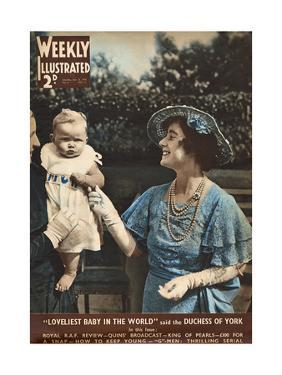 Front Cover of Weekly Illustrated Magazine - 13th July 1935