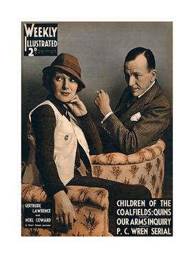 Front Cover of Weekly Illustrated Magazine - 18th January 1936
