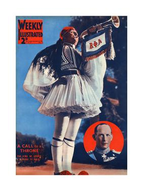 Front Cover of Weekly Illustrated Magazine - 23rd November 1935
