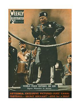 Front Cover of Weekly Illustrated Magazine - 31st August 1935