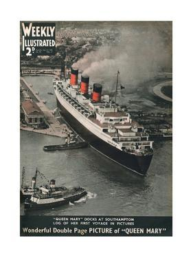 Front Cover of Weekly Illustrated Magazine - 4th April 1936