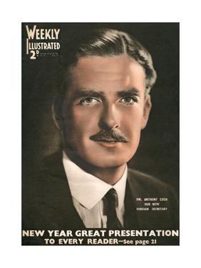 Front Cover of Weekly Illustrated Magazine - 4th January 1936